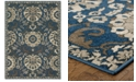 "Oriental Weavers Highlands 6682A Midnight/Beige 5'3"" x 7'6"" Area Rug"