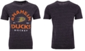 Authentic NHL Apparel Men's Anaheim Ducks Vintage Arch Tri-Blend T-Shirt