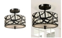 Dale Tiffany Willow Cottage Semi Flush Mount