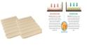 Mattress Helper Sagging Mattress Solutions 2 Pack - Full Coverage - Full/Queen
