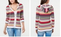 Tommy Hilfiger Striped Cotton Hoodie, Created for Macy's