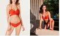 SUNDAZED Simone Bra-Sized Underwire Wrap Bikini Top & Beach Waves Candice Strappy Ruffled Bikini Bottoms, Created for Macy's