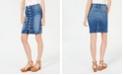 Joe's Jeans Joe's High-Rise Button-Front Denim Skirt
