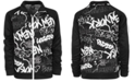 Ideology Big Boys Graffiti-Print Jacket, Created for Macy's