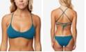 O'Neill  Juniors' Salt Water Lace-Up Bralette Bikini Top