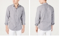 INC International Concepts I.N.C. Men's Dual Pocket Chambray Shirt, Created for Macy's