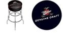 Trademark Global Miller Genuine Draft Padded Bar Stool