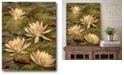 """Courtside Market Lotus Dream Gallery-Wrapped Canvas Wall Art - 16"""" x 20"""""""