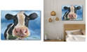 """Courtside Market Morning Chew Gallery-Wrapped Canvas Wall Art - 18"""" x 24"""""""