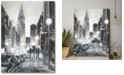 """Courtside Market Illuminated Streets II Gallery-Wrapped Canvas Wall Art - 16"""" x 20"""""""
