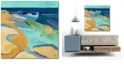 """Courtside Market Seaside Gallery-Wrapped Canvas Wall Art - 30"""" x 30"""""""