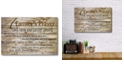 """Courtside Market A Farmer's Prayer Gallery-Wrapped Canvas Wall Art - 12"""" x 18"""""""