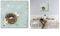 "Courtside Market Flower Nest II Gallery-Wrapped Canvas Wall Art - 16"" x 16"""