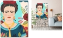 """Courtside Market Frida Garden I Gallery-Wrapped Canvas Wall Art - 18"""" x 24"""""""