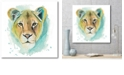 """Courtside Market Chromatic Cats I Gallery-Wrapped Canvas Wall Art - 20"""" x 20"""""""