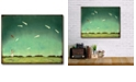 """Courtside Market From Here On Gallery-Wrapped Canvas Wall Art - 16"""" x 20"""""""