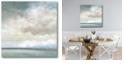 """Courtside Market Cloudscape VII Gallery-Wrapped Canvas Wall Art - 16"""" x 16"""""""