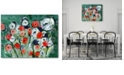 "Courtside Market Modern Garden Gallery-Wrapped Canvas Wall Art - 16"" x 20"""