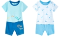 First Impressions Baby Boys Coastal Fun Cotton Sunsuit, Created for Macy's