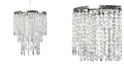 Sleeping Partner Tadpoles Faux Crystal Triple Layer Dangling Pendant