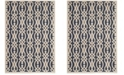 """Martha Stewart Collection Azurite Blue 8' x 11'2"""" Area Rug, Created for Macy's"""