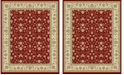 Safavieh Lyndhurst Red and Ivory 11' x 15' Area Rug