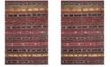 Safavieh Montage Rust and Multi 3' x 5' Area Rug