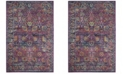 "Safavieh Granada Fuchsia and Multi 2'2"" x 7' Sisal Weave Runner Area Rug"