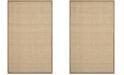 Safavieh Natural Fiber Natural and Brown 10' x 14' Sisal Weave Area Rug
