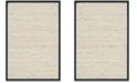 "Safavieh Natural Fiber Marble and Black 2'6"" x 4' Sisal Weave Area Rug"