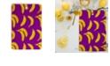 Deny Designs Bright Bananas Rectangle Cutting Board
