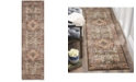 "Safavieh Bijar Brown and Rust 2'3"" x 8' Runner Area Rug"