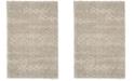 Safavieh Arizona Shag Gray and Ivory 4' x 6' Sisal Weave Area Rug