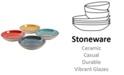 """Laurie Gates Color Speckle 4 Piece 10.75"""" Pasta Bowl Set"""