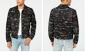 GUESS Men's Dillon Graphic Jacket
