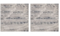 """Safavieh Meadow Gray and Ivory 6'7"""" x 6'7"""" Square Area Rug"""