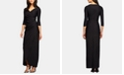 Alex Evenings Embellished Ruched Gown