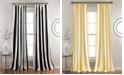Lush Decor Wilbur Stripe Room Darkening Window Curtain Sets