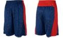 adidas Big Boys Printed Colorblocked Shorts