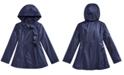 S Rothschild & CO Little Girls Ruffle Rain Jacket