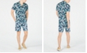 Club Room Men's Fern Print Shirt & Shorts Separates, Created for Macy's