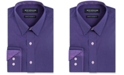 Nick Graham Men's Long Sleeve Stretch Circular Diamond Print Shirt
