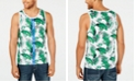 INC International Concepts I.N.C. Men's Skull Palm Tank, Created for Macy's