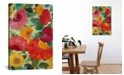 """iCanvas """"Love Flowers I"""" By Kim Parker Gallery-Wrapped Canvas Print - 40"""" x 26"""" x 0.75"""""""