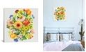 """iCanvas """"September Garden Bouquet"""" By Kim Parker Gallery-Wrapped Canvas Print - 18"""" x 18"""" x 0.75"""""""