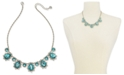 """Charter Club Crystal & Stone Statement Necklace, 17"""" + 2"""" extender, Created for Macy's"""