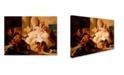 "Trademark Global Tiepolo 'Venus And Vulcan' Canvas Art - 32"" x 24"" x 2"""