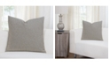 "Siscovers Haystak Ticked Stripe 26"" Designer Euro Throw Pillow"