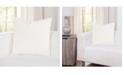 "Siscovers Sensu Snow 20"" Designer Throw Pillow"
