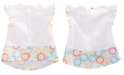 First Impressions Baby Girls Printed-Hem Cotton Top, Created for Macy's